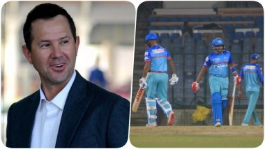 Ricky Ponting Delivers a Pep Talk to Team DC Ahead of their Match Against MI in IPL 2019 (Watch Video)