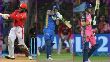 RR vs KXIP, IPL 2019 Match 4, Key Players: Chris Gayle to Ben Stokes to Jos Buttler, These Cricketers Are to Watch Out for at Sawai Mansingh Stadium