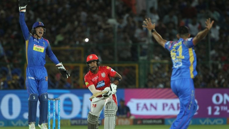 RR vs KXIP, Toss Report and Playing XIs Live Update: Ajinkya Rahane Wins Toss, Opts to Bowl First (Watch Video)