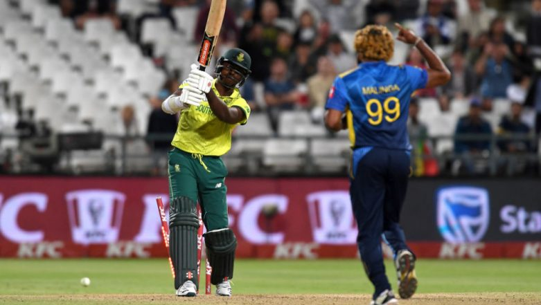 Live Cricket Streaming of South Africa vs Sri Lanka T20I Series on Sonyliv: Check Live Cricket Score, Watch Free Telecast of SA vs SL 2nd T20 2019 on TV & Online