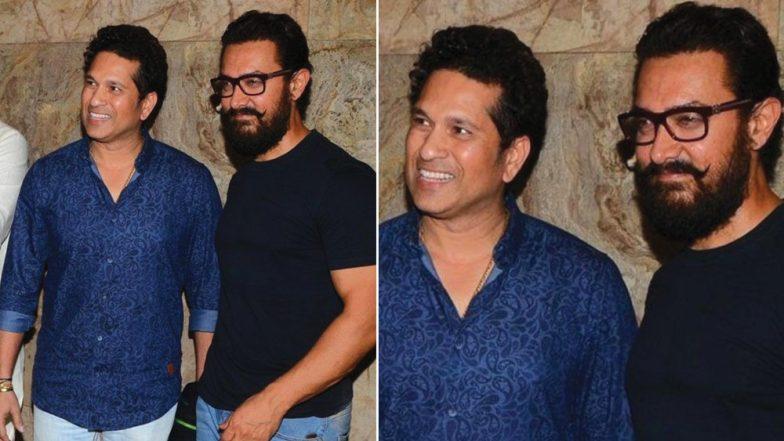 Sachin Tendulkar Has A Rather Witty Birthday Wish For Aamir Khan In 'Aati Kya Khandala' Style; Read Tweet