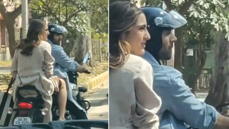 Sara Ali Khan in Legal Trouble After a Complaint Gets Filed Against Her for Pillion Riding Without Helmet