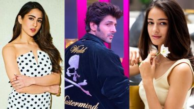Sara Ali Khan, Kartik Aaryan and Ananya Pandey on a Three-Way Date! Kedarnath Actress Says It'd Be Quite Fun - Watch Video
