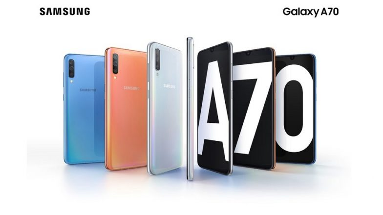 Samsung Galaxy A70 Smartphone With 6.7-inch Infinity-U Display & Triple Rear Camera Announced; To Be Unveiled on April 10, 2019