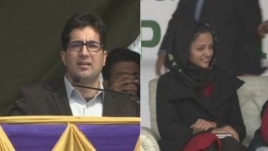 Ex-IAS Shah Faesal Launches 'Jammu and Kashmir People's Movement', Activist Shehla Rashid Joins Party