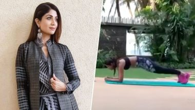Shilpa Shetty's Secret for a Flat Tummy? Planks! How to Perform This Core Strengthening Exercise