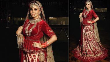 Shrenu Parikh's Bridal Look Is a Perfect D-Day Style Inspiration for All the Brides-to-Be (View Pic)