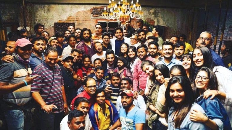 Its a Wrap for Sidharth Malhotra, Riteish Deshmukh, Rakulpreet Singh, Tara Sutaria Starrer Marjaavaan, See Pic