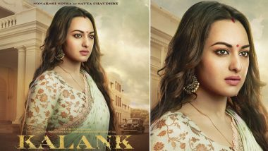 Kalank: Sonakshi Sinha Holds a World of Emotions in Her Eyes as the Elegant Satya, See Pic