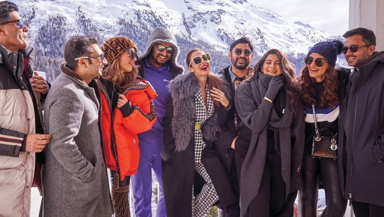 This Pic of Malaika Arora With Sonam and Rhea Kapoor Proves That She Is Getting Along Very Well With Arjun Kapoor's Family