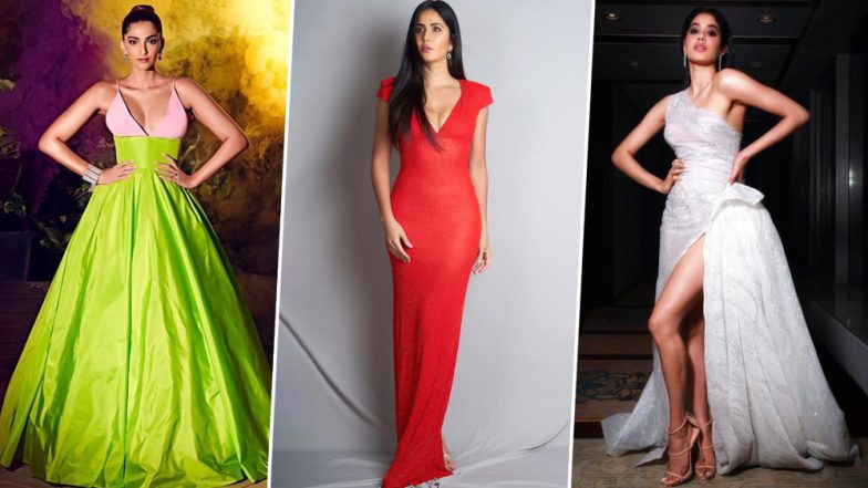 Hello Hall of Fame Awards 2019 Best Dressed: Janhvi Kapoor, Sonam K Ahuja and Katrina Kaif's Fashion Picks Win our Hearts - View Pics