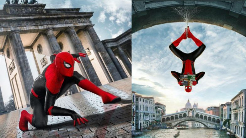 Spider-Man: Far from Home – Tom Holland Is Hanging Out in Europe on the New Posters – See Pics