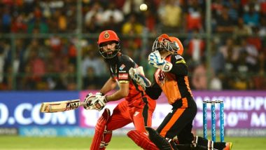 SRH vs RCB, IPL 2019, Hyderabad Weather & Pitch Report: Here's How the Weather Will Behave for Indian Premier League 12's Match Between Sunrisers Hyderabad and Royal Challengers Bangalore