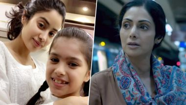 Janhvi Kapoor S Gunjan Saxena Biopic And Sridevi S Mom Have This In Common Latestly