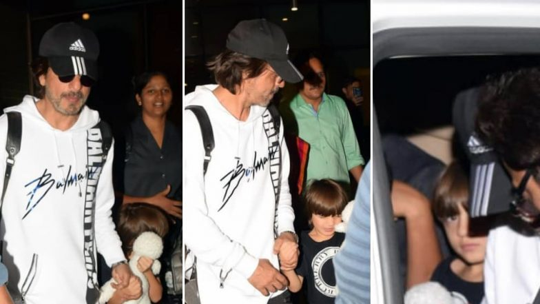 Keep Safe Distance! Shah Rukh Khan's Son AbRam Is in No Mood to Be Papped – See Pics