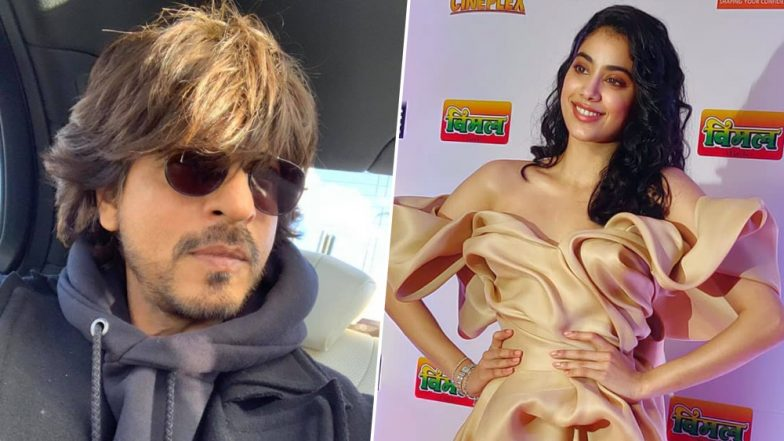 64th Vimal Filmare Awards 2019: Janhvi Kapoor to Shake a Leg with Shah Rukh Khan for the First Time