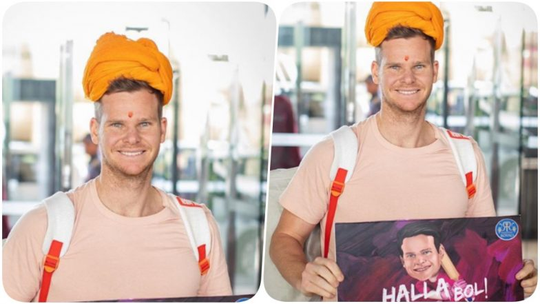 Steve Smith Joins Team Rajasthan Royals Ahead of IPL 2019; Franchise Welcomes the Australian Cricketer (Watch Video and Pics)