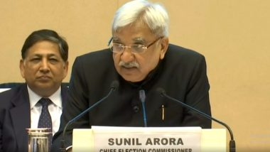 Chief Election Commissioner Sunil Arora & EC Ashok Lavasa, Sushil Chandra To Take 30% Pay Cut For 1 Year to Contribute For Fight Against COVID-19