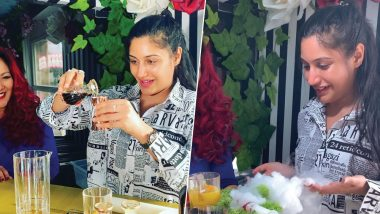Ishqbaaaz Fame Surbhi Chandna Tries Her Hands at Making Cocktails, Invites Her 'Frands' to Join Her – Watch Video