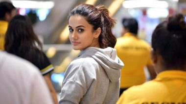 Taapsee Pannu Gets Emotional After Finishing Shoot for 'Thappad'