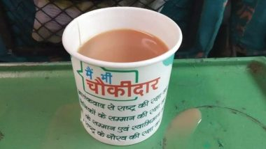 IRCTC Under Fire As Pic of Tea Served in 'Main Bhi Chowkidar' Cups in Shatabdi Train Goes Viral; Indian Railways Assure Strict Action