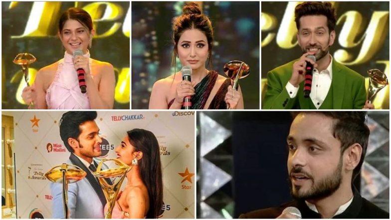 Indian Telly Awards 2019 Full Winners' List: Hina Khan, Jennifer Winget, Parth Samthaan, Erica Fernandes, Nakuul Mehta and Adnan Khan Win Big Awards!