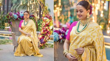Pregnant Surveen Chawla Looks Splendid and Gorgeous For her Godbharai Ceremony - See Pics