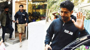 Farhan Akhtar Still Prefers Ex-Wife, Adhuna Bhabani's Salon Brand Over Others - View Pics