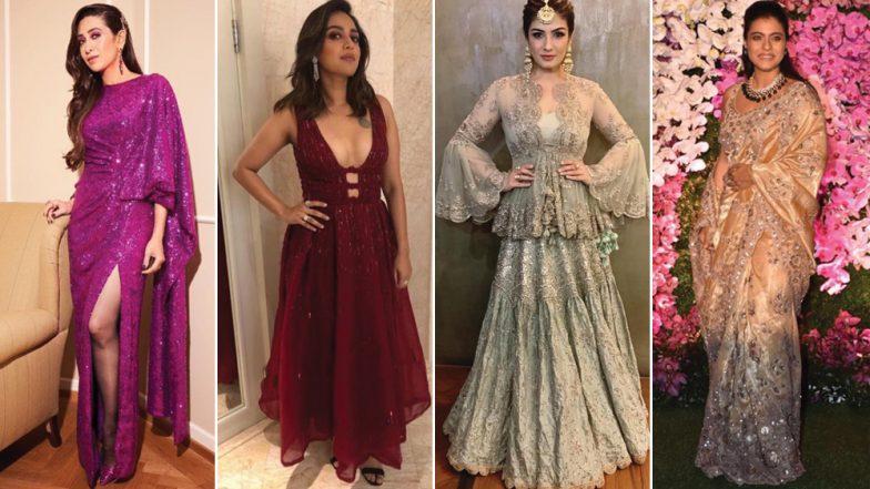 Worst Dressed of the Week: '90s Divas Raveena Tandon, Kajol and Karisma Kapoor Disappoint! Swara Bhasker's There Too