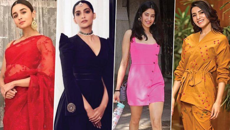 Alia Bhatt, Samantha Ruth Prabhu and Janhvi Kapoor's Style Offerings Deserve a Loud Cheer - View Pics