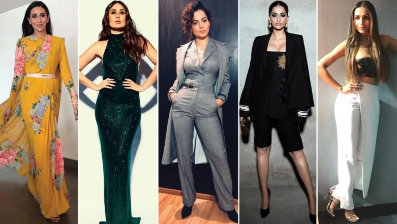 International Women's Day 2019: Kareena, Kangana and Sonam - Meet the Most Fashionable Ladies of Bollywood That Make Us Fall in Love with Fashion Everyday
