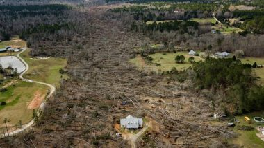 US Tornadoes 2019: Visuals of a Perfectly Intact Georgia House Surrounded by Total Devastation Go Viral (Watch Pic & Video)