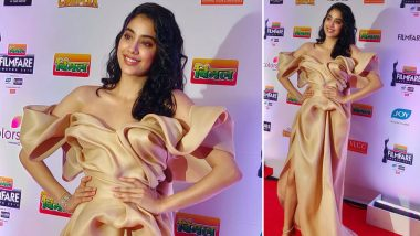 64th Vimal Filmfare Awards 2019: Janhvi Kapoor Glamorous Avatar for the Star-Studded Affair Will Leave You Awe-struck! See Pic