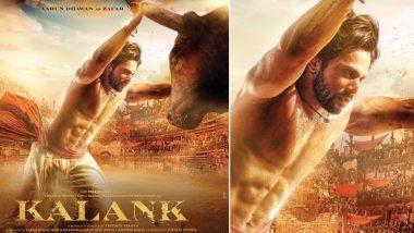 Kalank New Poster: Varun Dhawan as Zafar is Giving us All The Baahubali Feels - See Pic