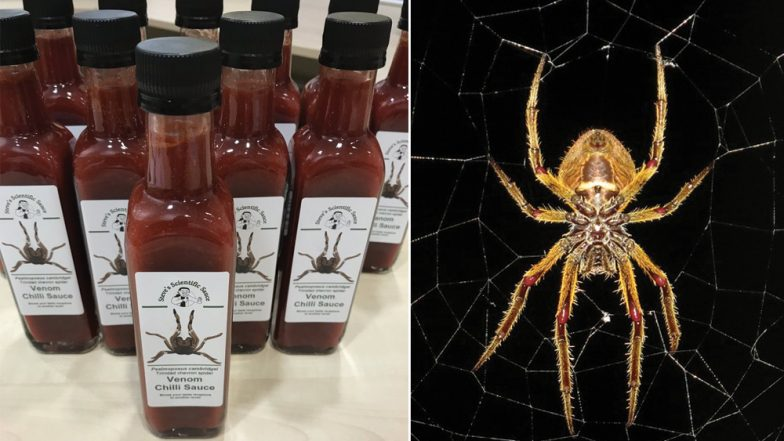 Hot Sauce With Spider Venom! British Scientists Create First-of-a-Kind Spicy Condiment That Stings Like a Spider Bite