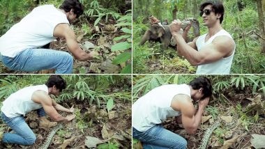 Junglee Star Vidyut Jammwal Teaches Us On 'How to Befriend a Python' in This Jaw-Dropping But Adorable Video!