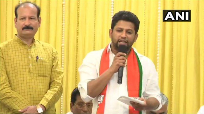 Lok Sabha Elections 2019: Maharashtra Congress Leader's Son Sujay Vikhe Patil Joins BJP