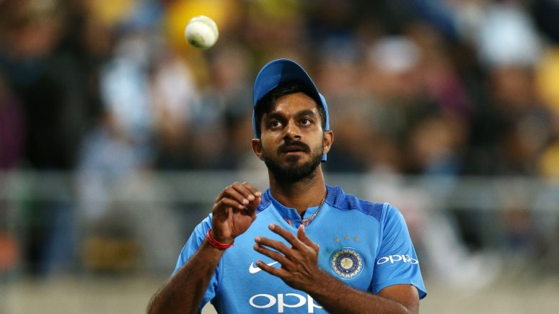 Vijay Shankar Included in Team India for ICC Cricket World Cup 2019, Check Full 15-Man Squad