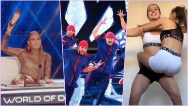 Throwback Video of JLo Hurling Shoe on Mumbai Dance Group to Koala Challenge – Watch 7 Videos Going Viral This Week