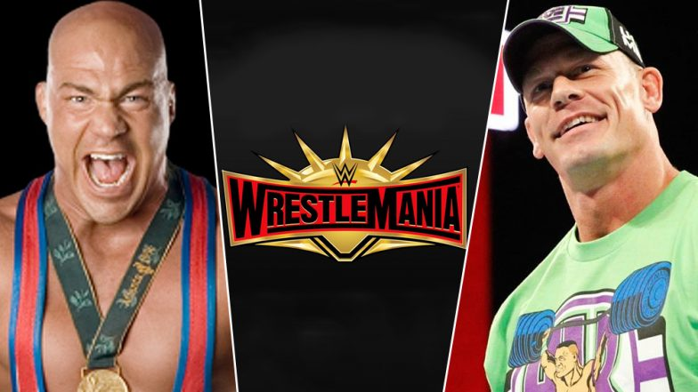 Kurt Angle vs John Cena in WrestleMania 35? Olympic Gold Medallist WWE Star Rumoured to Fight Cena in His Farewell Match
