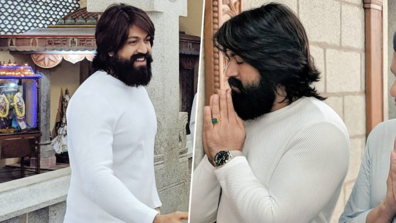 Yash and Srinidhi Shetty Starrer KGF Chapter 2 Goes on the Floor With a Customary Pooja in Bengaluru