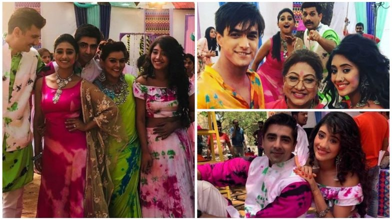 Yeh Rishta Kya Kehlata Hai Holi Celebrations; This Key Character To Return To The Show! View Pictures