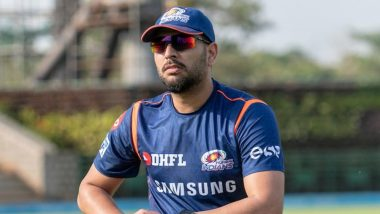 Mumbai Indians' Players List in IPL 2020: MI Releases Yuvraj Singh Among 12 Players, Retain Core Team