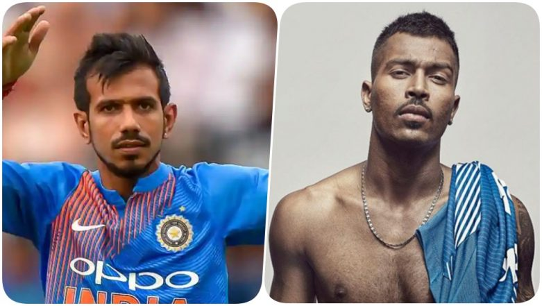 Yuzvendra Chahal Trolls Hardik Pandya Over a Shirtless Picture on Instagram; Asks if All-Rounder Has a Sponsor