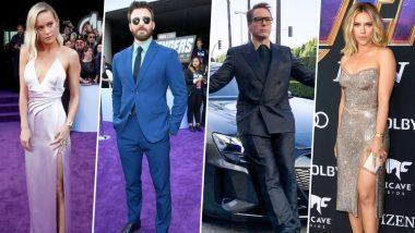 Avengers Endgame LA Premiere: Robert Downey Jr, Chris Evans, Scarlett Johansson, Brie Larson and Others Grace this Big Night - View Pics