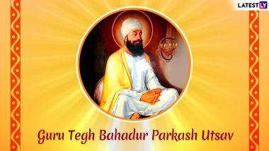 sri guru tegh bahadur parkash utsav remembering ninth guru