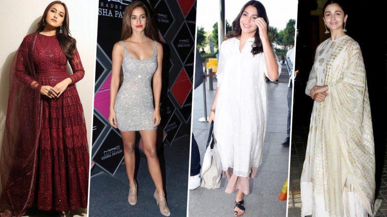 Alia Bhatt, Anushka Sharma and Disha Patani Nailed their Fashion Outings This Week - View Pics