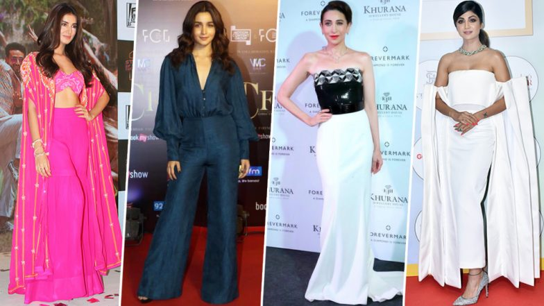 Alia Bhatt, Tara Sutaria and Karisma Kapoor Woo us With their Style Offerings This Week - View Pics