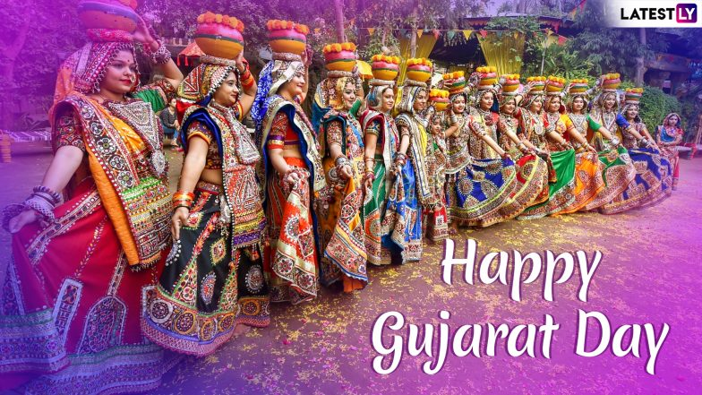 Gujarat Day Images With Quotes for Free Download Online: Wish Happy Gujarat Day 2019 With GIF Greetings and WhatsApp Messages