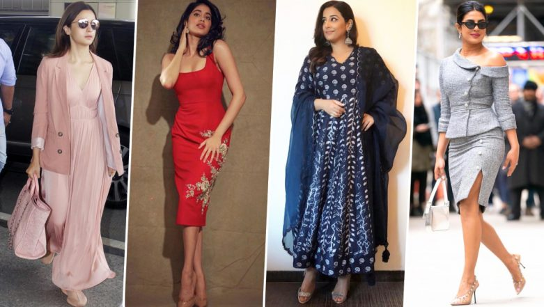 Alia Bhatt, Priyanka Chopra and Vidya Balan are Our Best-Dressed Celebs this Week - View Pics